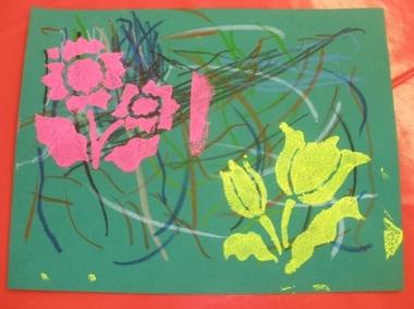 Turbo A la manière d'Andy Warhol - École Coat Pin de Riec-sur-Belon UQ92